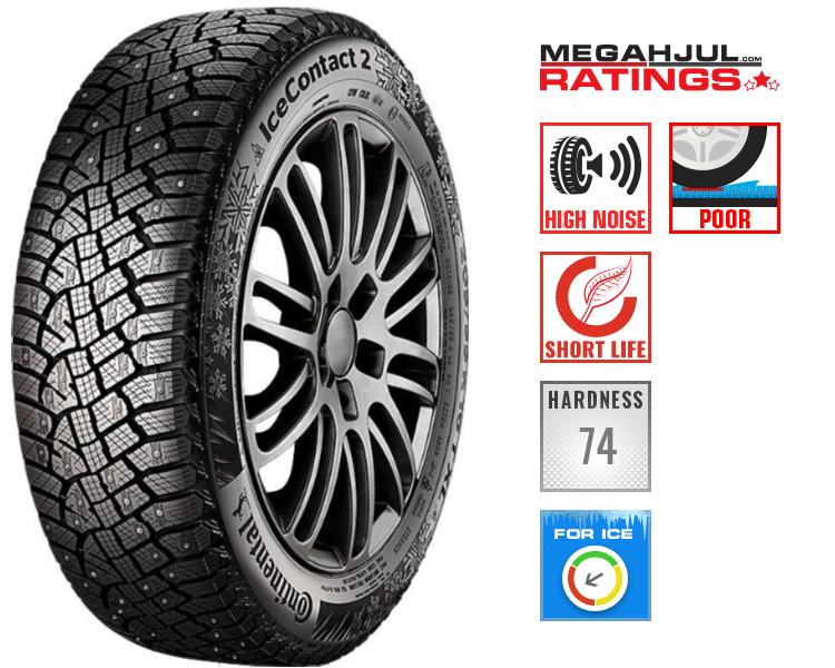 245/45R19 CONTINENTAL ICECONTACT 2 245/45 R19 102T