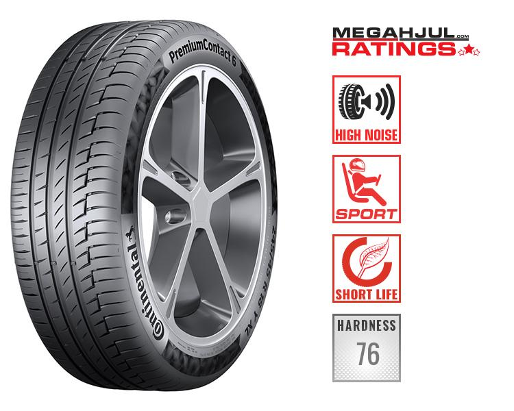 225/55R18 CONTINENTAL PREMIUMCONTACT 6 98V