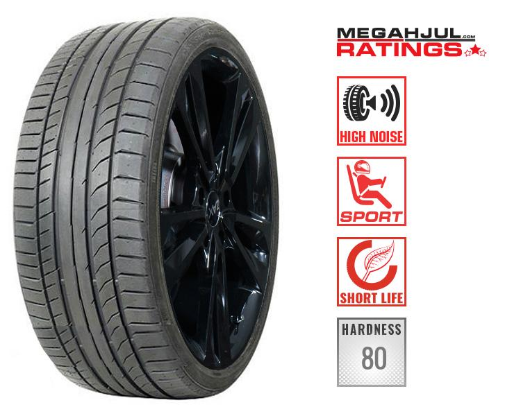 245/45R19 CONTINENTAL SPORTCONTACT 5 SUV 245/45 R19 98W