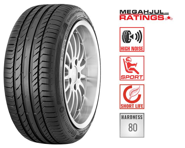 245/45R19 CONTINENTAL SPORTCONTACT 5 245/45 R19 102W