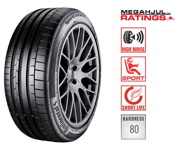 265/30R21 CONTINENTAL SPORTCONTACT 6 265/30 R21 96Y