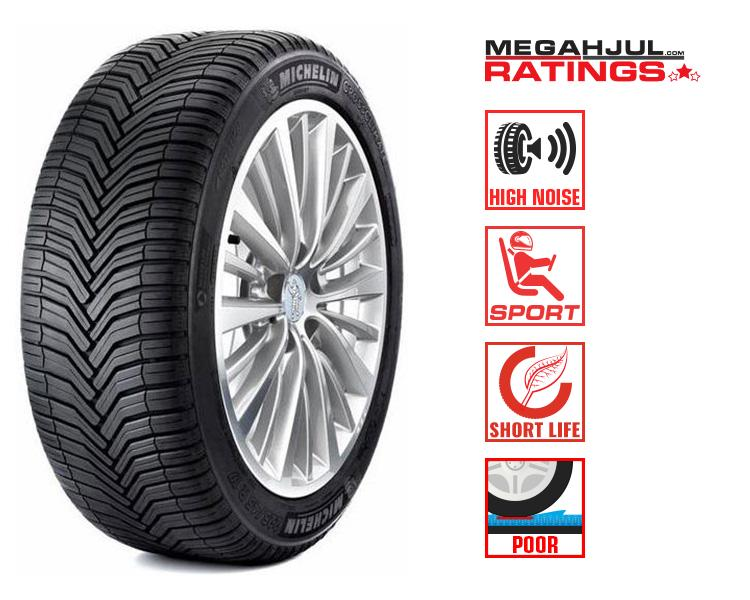 225/55R18 MICHELIN CROSSCLIMATE 98V