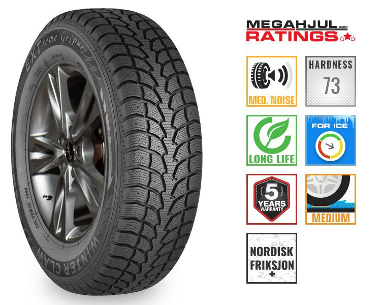 225/55R18 WINTER CLAW EXTREME GRIP MX 98T